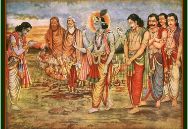 romapada-swami-on-pandavas-and-krishna-offering-obeisance's