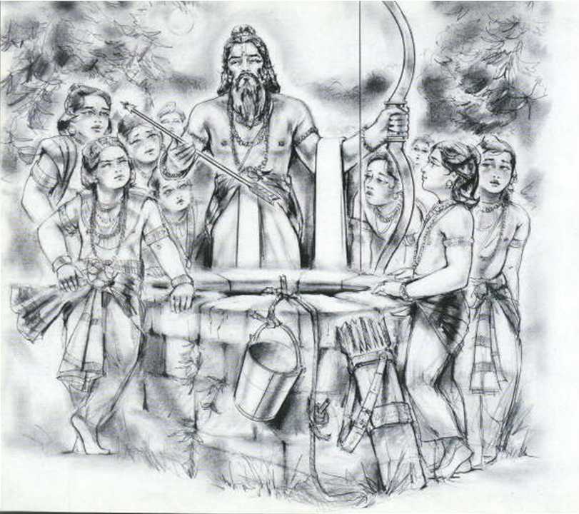 Romapada Swami on Drona impressing the young kuru princes