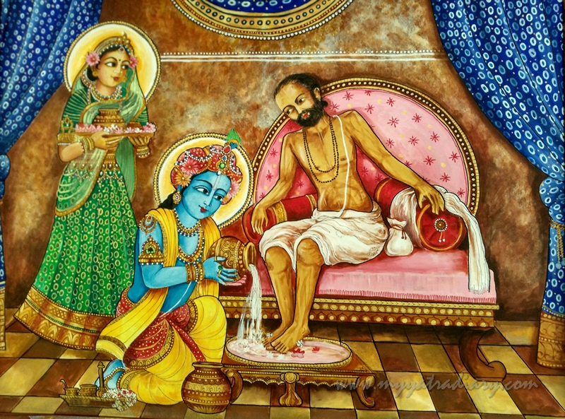 romapada swami on reposing compassion properly